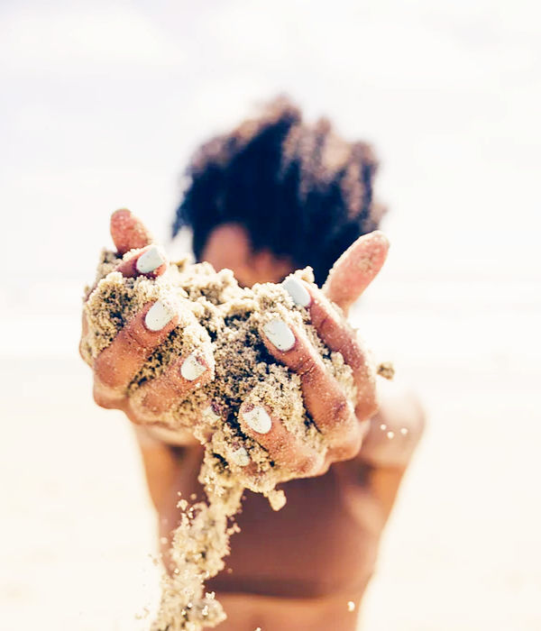zand Greetje Komdeur